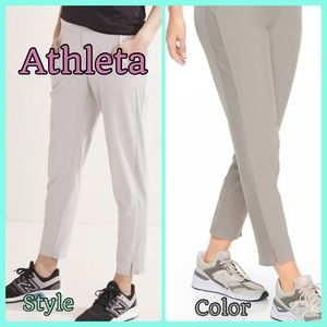 Athleta Brooklyn Ankle Pant current retail $89.00
